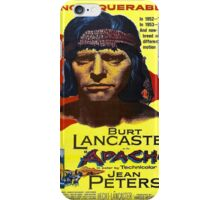 Vintage poster - Apache iPhone Case/Skin