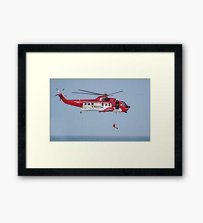Sikorsky S.61N   EI-SAR   Irish Coast Guard Framed Print