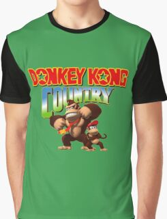 Donkey Kong Country Graphic T-Shirt