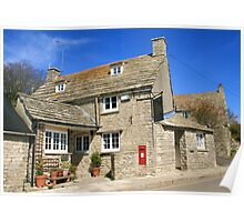 The Old Post Office, Worth Matravers Poster