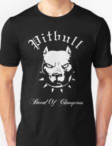 Pitbull Breed of Champions Unisex T-Shirt