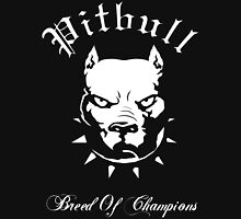 Pitbull Breed of Champions Unisex T-Shirt