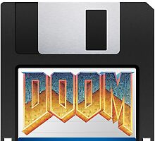 Doom floppy disk by Macbuk