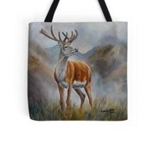 Prince Of The Glen (red stag) Tote Bag