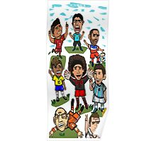 The World Cup Toons Poster