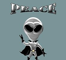 ALIENS COME IN PEACE by bumpin