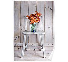 Fresh Day Lilly Flowers  Poster