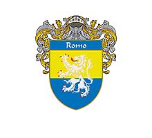 Romo Coat of Arms/Family Crest Photographic Print