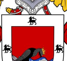 Romero Coat of Arms/Family Crest Sticker