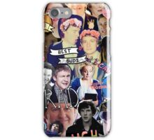 Sherlock collage 1 iPhone Case/Skin
