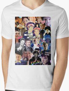 Sherlock collage 1 Mens V-Neck T-Shirt