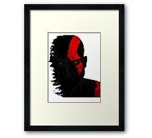 Fear Kratos Framed Print
