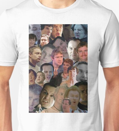 Sherlock collage 2 Unisex T-Shirt