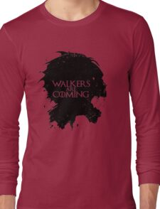game of walking dead Long Sleeve T-Shirt