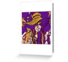 Hippy Chic Greeting Card
