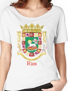 Rios Shield of Puerto Rico Women's Relaxed Fit T-Shirt