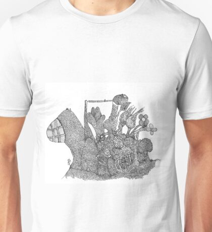 The garden village Unisex T-Shirt