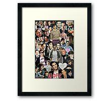 Sherlock collage 3 Framed Print