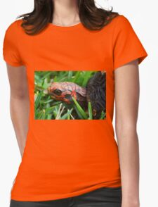 Red-footed Tortoise I Womens Fitted T-Shirt