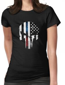 Punisher COP  Womens Fitted T-Shirt