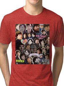 Sherlock collage 4 Tri-blend T-Shirt