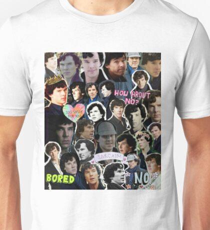 Sherlock collage 4 Unisex T-Shirt