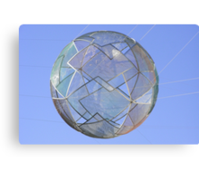 Angles within a sphere. Canvas Print
