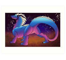 Space Star Dragon - Shinji Art Print