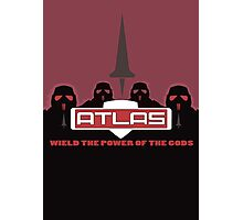 Wield the Power of the Gods Photographic Print