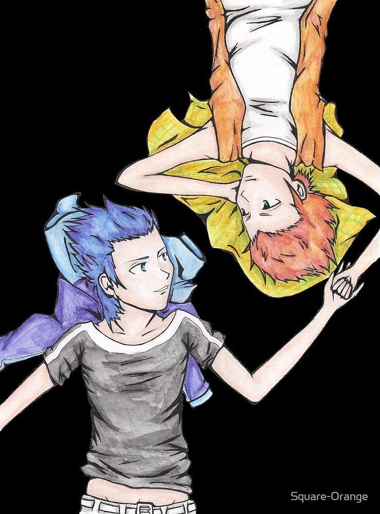 Lea & Isa  by Square-Orange