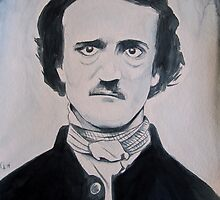 Edgar Allan Poe by Cable Angel