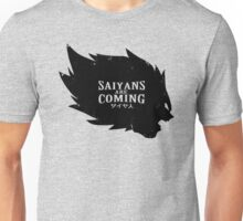 <DRAGON BALL Z> Saiyans Are Coming Unisex T-Shirt
