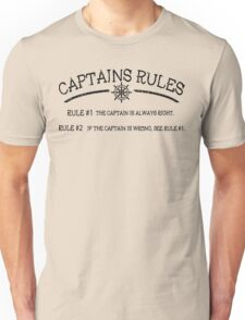 Captains Rules Unisex T-Shirt