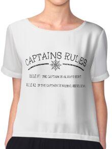 Captains Rules Chiffon Top