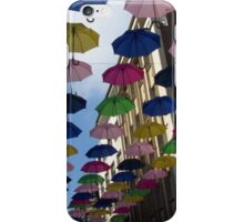 Summer in the (rainy) city iPhone Case/Skin