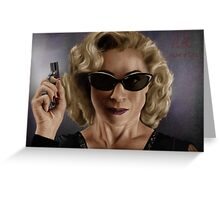 River Song (Doctor Who) Greeting Card
