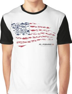 American Flag RED  Graphic T-Shirt