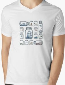 Vintage Preservation Mens V-Neck T-Shirt