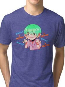 BTS SUGA INFIRES SWAG Tri-blend T-Shirt