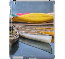 Moraine Lake Canoes iPad Case/Skin