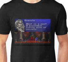 Castlevania - Miserable little pile of secrets Unisex T-Shirt