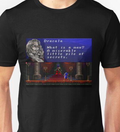 Castlevania - Miserable little pile of secrets Unisex T-Shirt