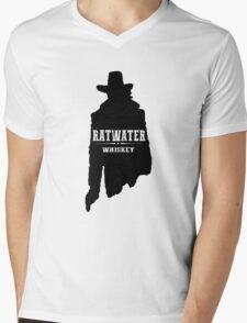 RATWATER WHISKEY - Preacher Mens V-Neck T-Shirt