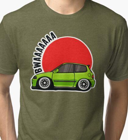Mini bwaa eg Tri-blend T-Shirt