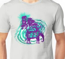 Elephantree (teal) Unisex T-Shirt