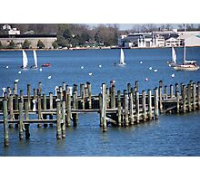 Docks in Annapolis Photographic Print