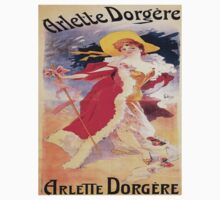 Vintage poster - Arlette Dorgere One Piece - Long Sleeve