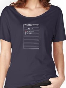 Todo List Women's Relaxed Fit T-Shirt