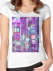 Aesthetic Pink  Women's Fitted Scoop T-Shirt