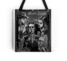 HP Lovecraft vs Aleister Crowley Tote Bag